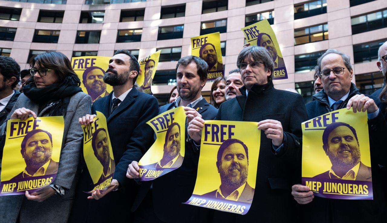 "Carles Puigdemont: ""La crisis catalana es un asunto europeo"""