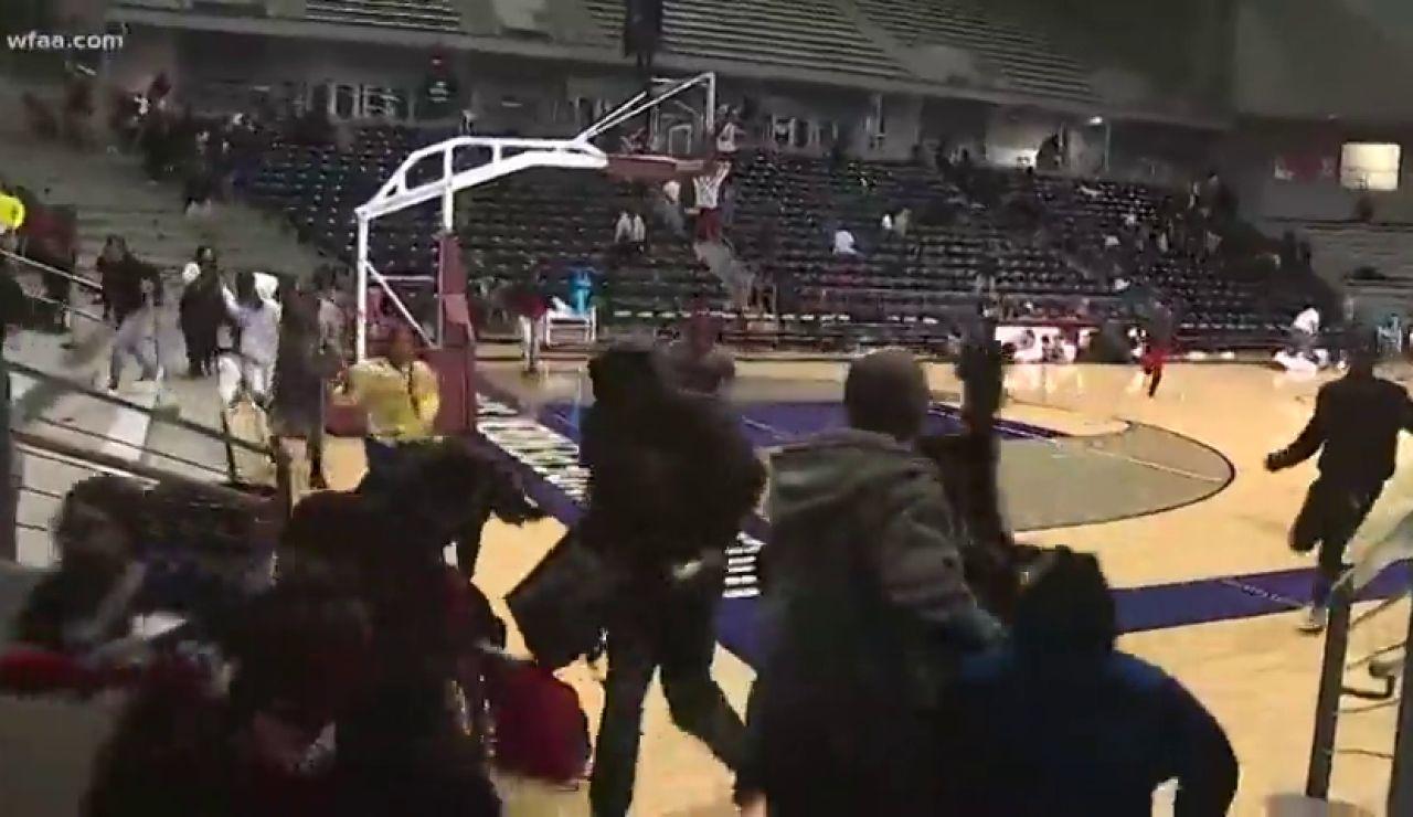 Terror en Dallas por un tiroteo en pleno partido de baloncesto infantil
