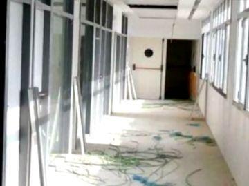 Roban los cables de cobre en un centro de salud de Sevilla