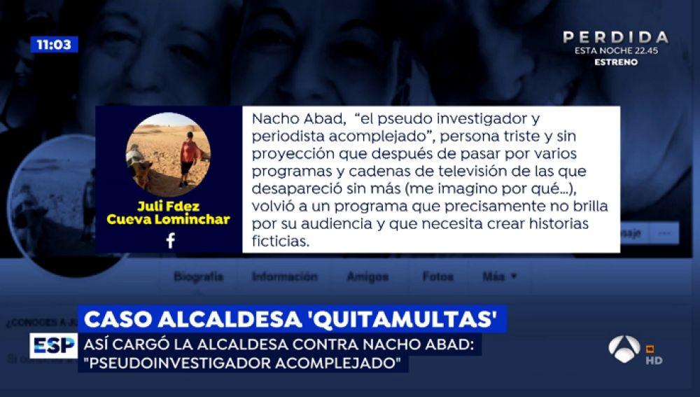 La alcaldesa 'quitamultas' de Corral de Almaguer afirma que va a luchar hasta el final y mantiene su inocencia