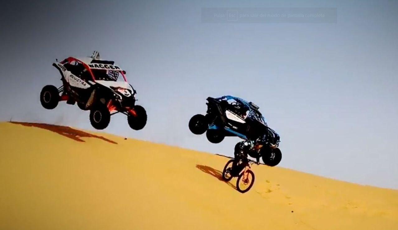 Yasmeen y Aliyyah sueñan con participar algún día en el Dakar