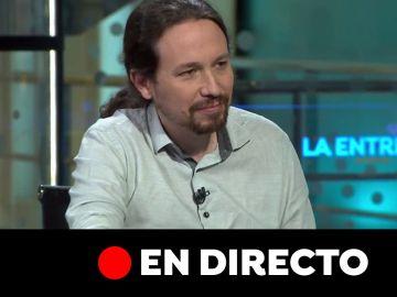Entrevista a Pablo Iglesias, en directo