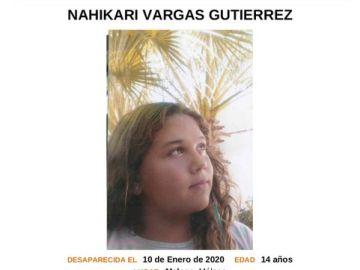 Niña desaparecida en Málaga