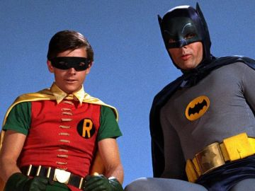 Burt Ward y Adam West
