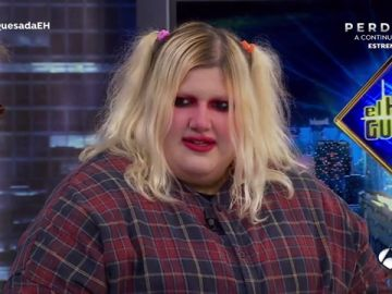"""Esty Quesada, molesta con su estado anímico actual en 'El Hormiguero 3.0': """"Estoy feliz"""""""