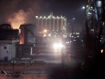 Una fuerte explosión en una industria del polígono sur de Tarragona