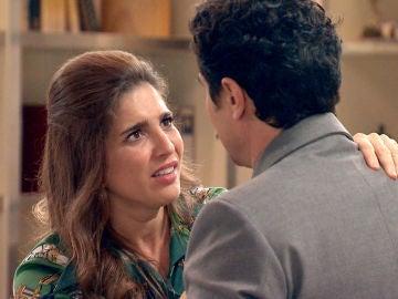 Irene recibe a Armando con ilusión y una mala noticia