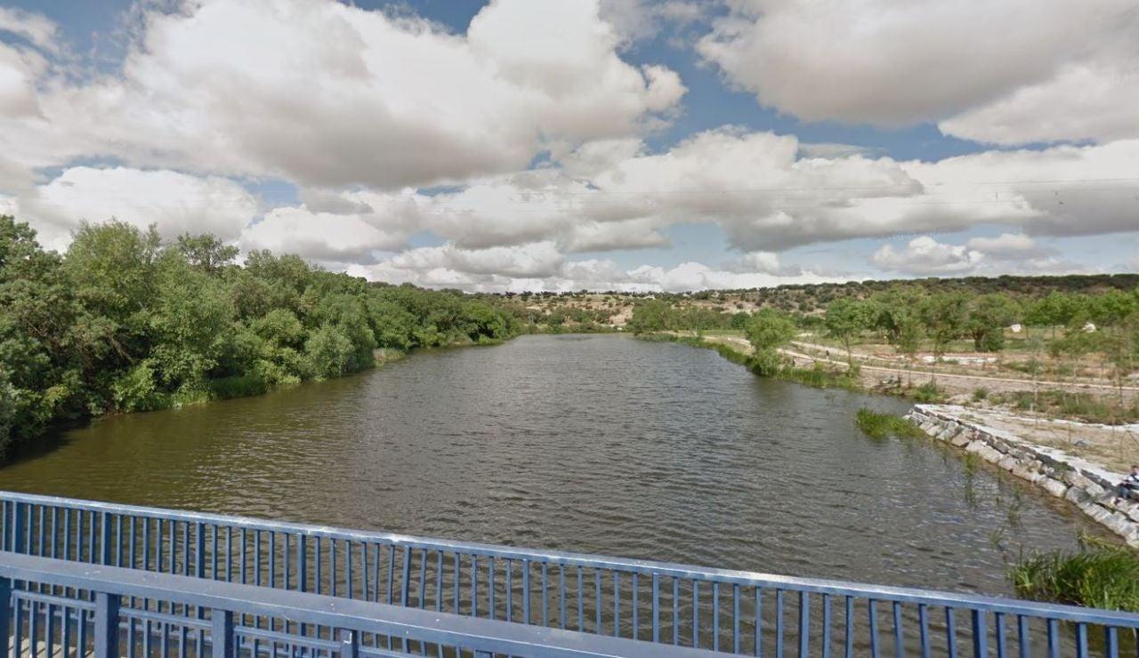 El río Tormes a su paso por Villamayor de Armuña