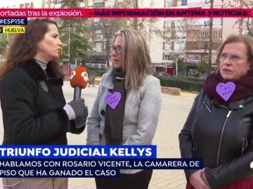 Triunfo judicial en el caso de las 'Kellys'