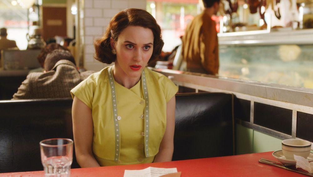 Rachel Brosnahan en 'The Marvelous Mrs. Maisel'