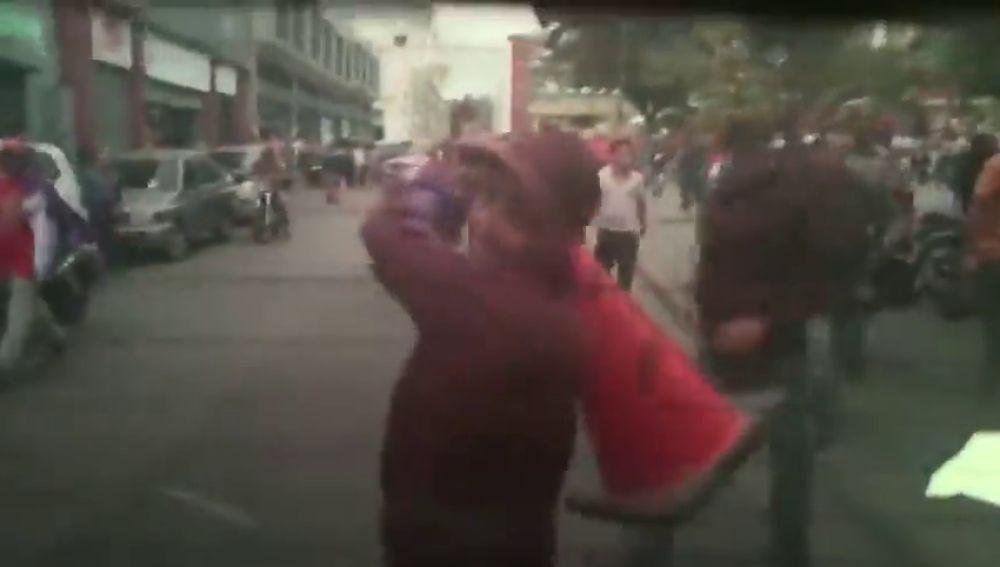 Grupos paramilatares chavistas atacan a los opositores de Juan Guaidó