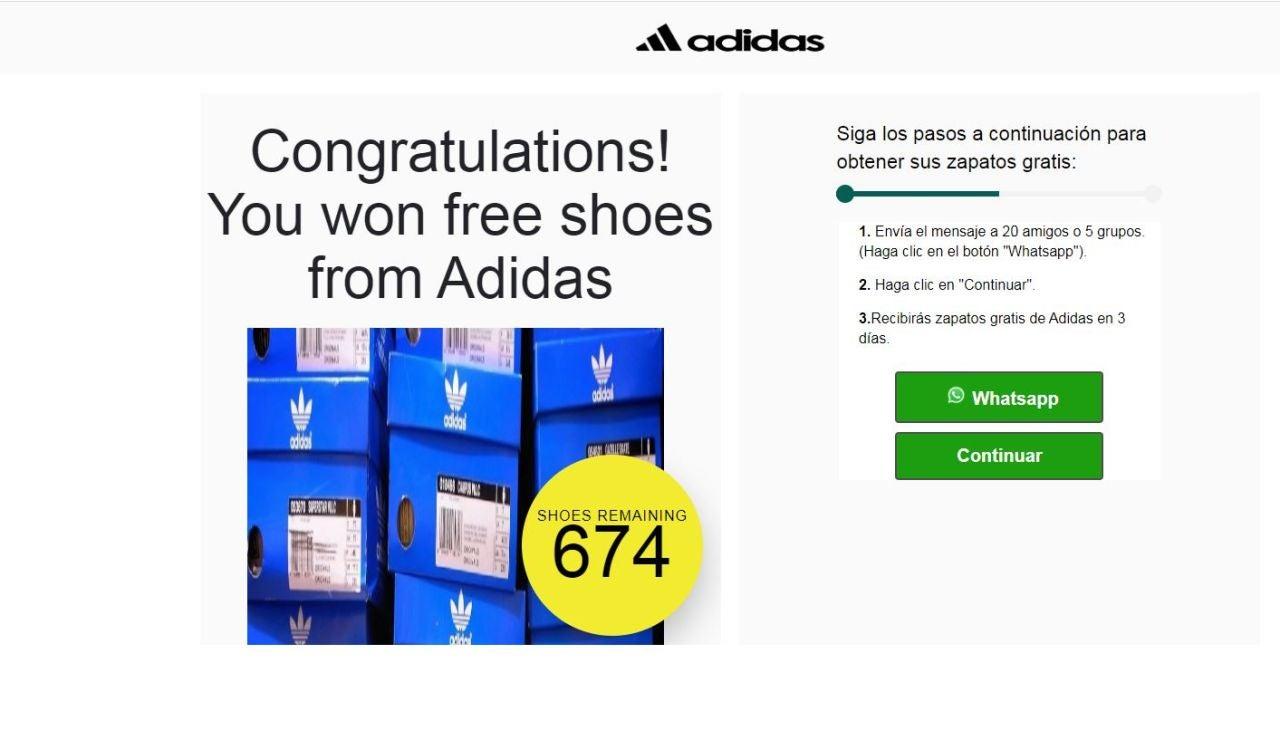 Bulo de Adidas