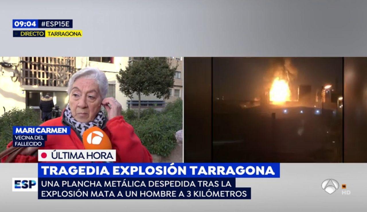 """Indignación de los vecinos donde se ha producido la explosión en Tarragona: """"No saltaron las alarmas"""""""