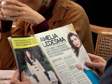 Marcelino, orgulloso de Amelia