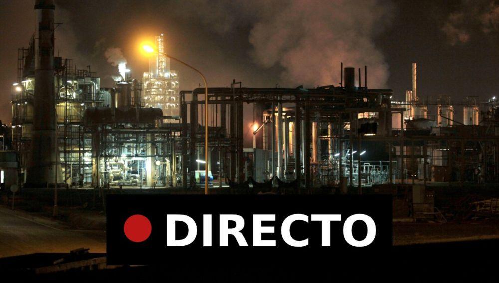 Explosión Tarragona: Última hora del incendio en la planta petroquímica de La Canonja, en directo