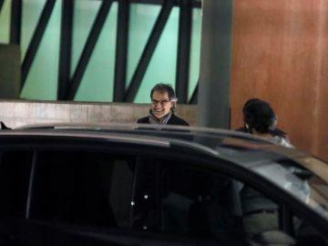 Jordi Cuixart sale de prisión para disfrutar su primer permiso penitenciario