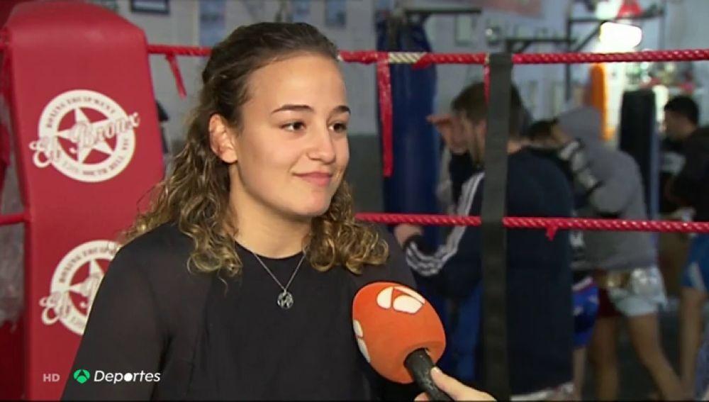 """Sofía Martos, la española que ha decidido dejar los estudios por el Muay Thai: """"Dejo muchas cosas, dejo a mi familia, mis amigos, es muy dificil"""""""