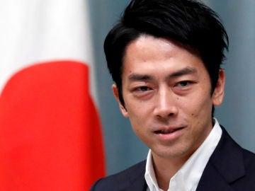 El ministro de Medio Ambiente de Japón, Shinjiro Koizumi