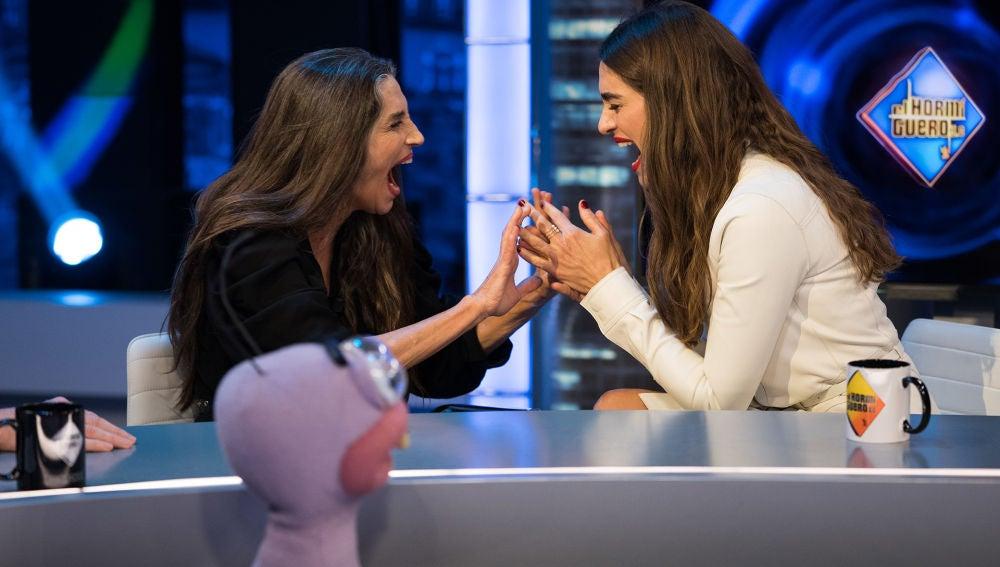 Trancas y Barrancas ponen a prueba la conexión mental de Ángela y Olivia Molina