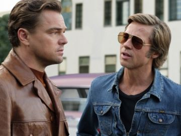 Leonardo DiCaprio y Brad Pitt en 'Érase una vez... en Hollywood'