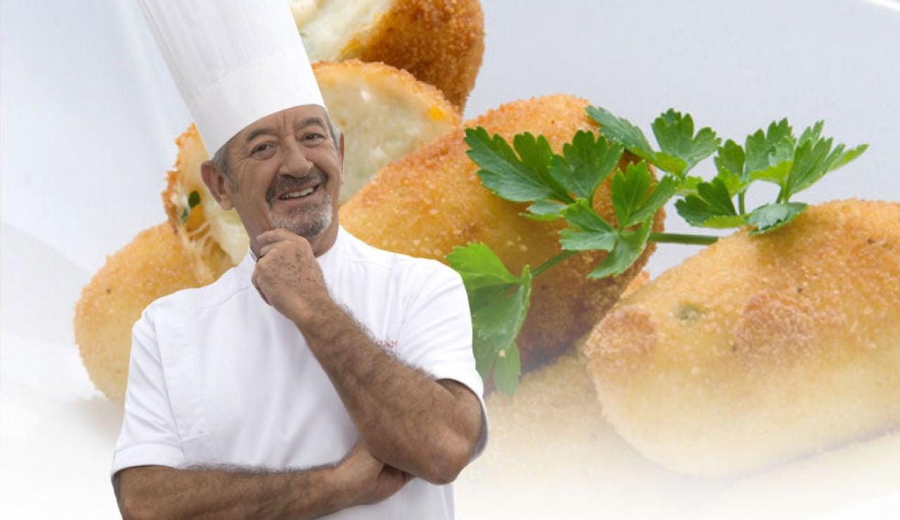 Las mejores recetas de croquetas de Karlos Arguiñano