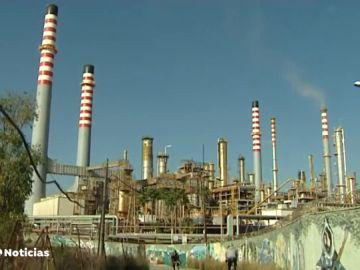 Dos heridos en una planta química de San Roque, en Cádiz