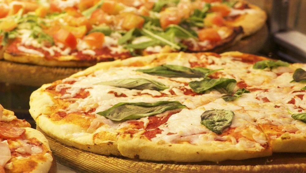 Imagen de Archivo de una pizza