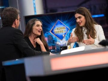 """La presión de Olivia Molina al actuar frente a su madre, Ángela Molina: """"Quieres hacerlo muy bien para ella"""""""