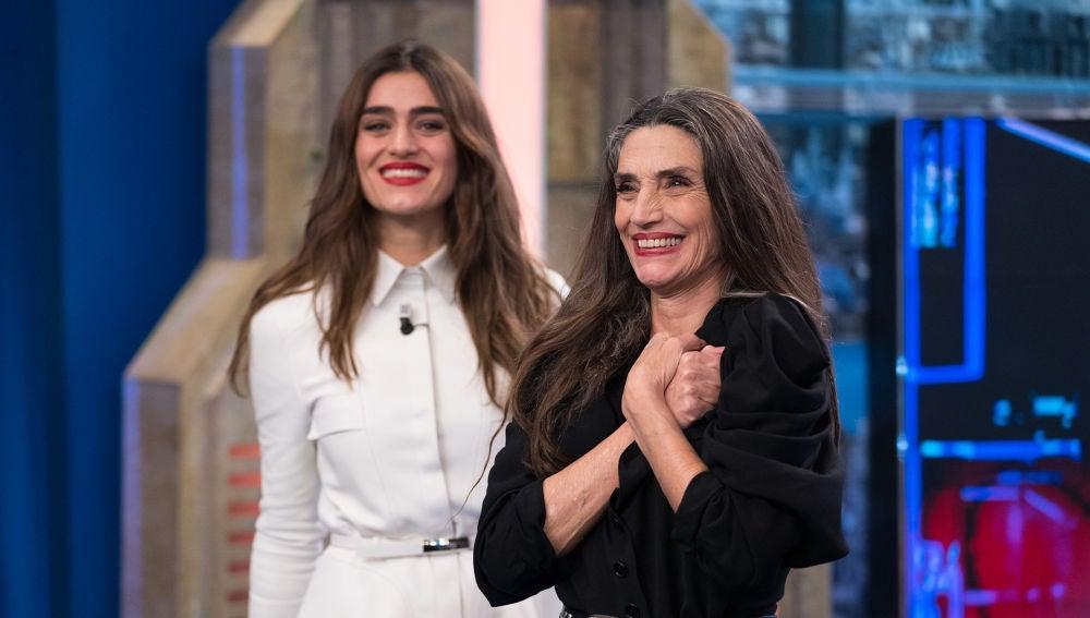 Ángela y Olivia Molina