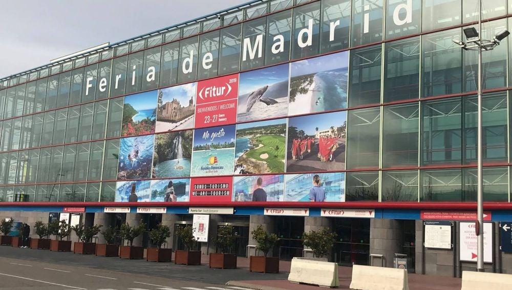 Entrada Fitur en Madrid.