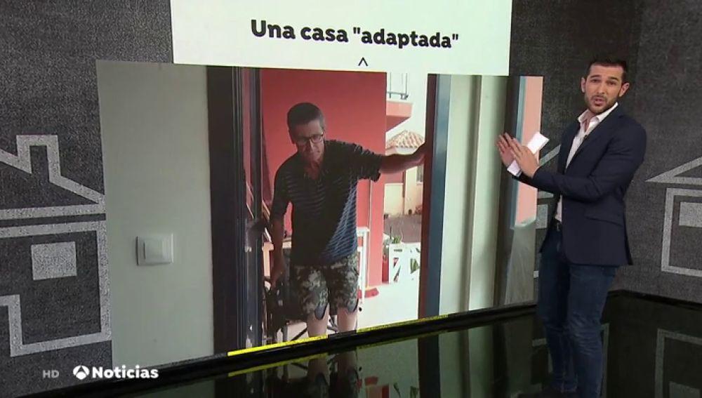 Realojan a un discapacitado de Lanzarote en una vivienda social inaccesible en Fuenterventura