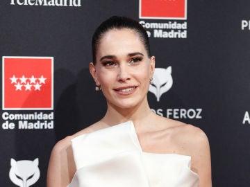 Celia Freijeiro en la alfombra roja en los Premios Feroz 2020
