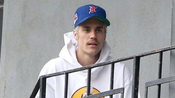 El nuevo bigotillo de Justin Bieber