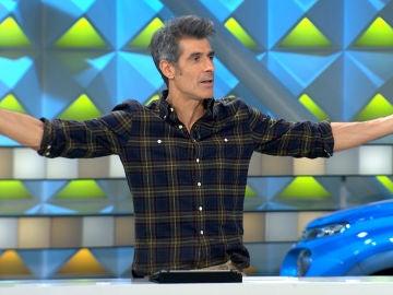 La precaución de Jorge Fernández a la hora de presentar 'La ruleta de la suerte'