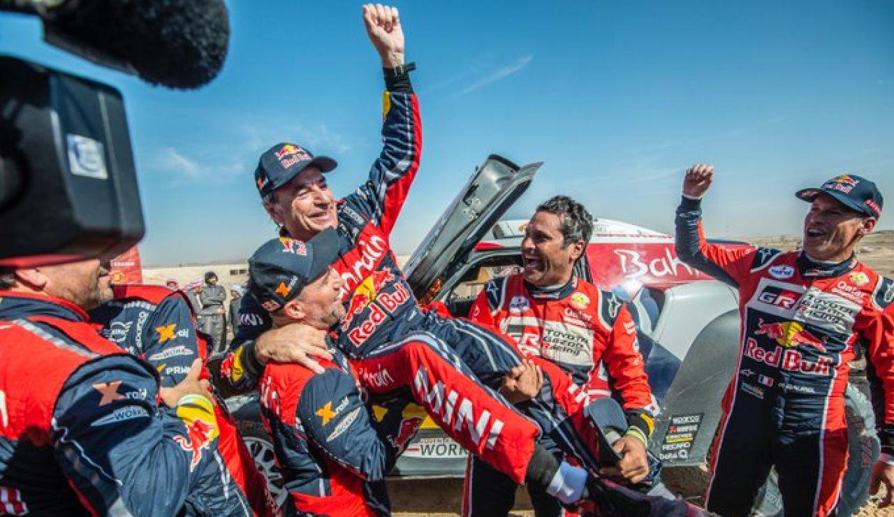 Carlos Sainz gana el Rally Dakar 2020