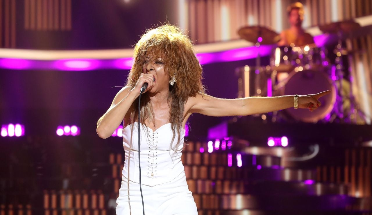 Mariola Fuentes celebra los 80 años de Tina Turner con 'What's love got to do with it'
