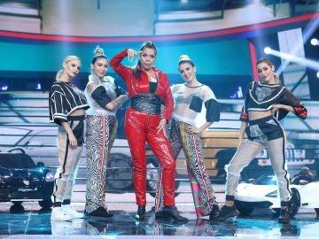 Belinda Washington se transforma en una reina de hielo como Isa P en 'Ahora estoy mejor'