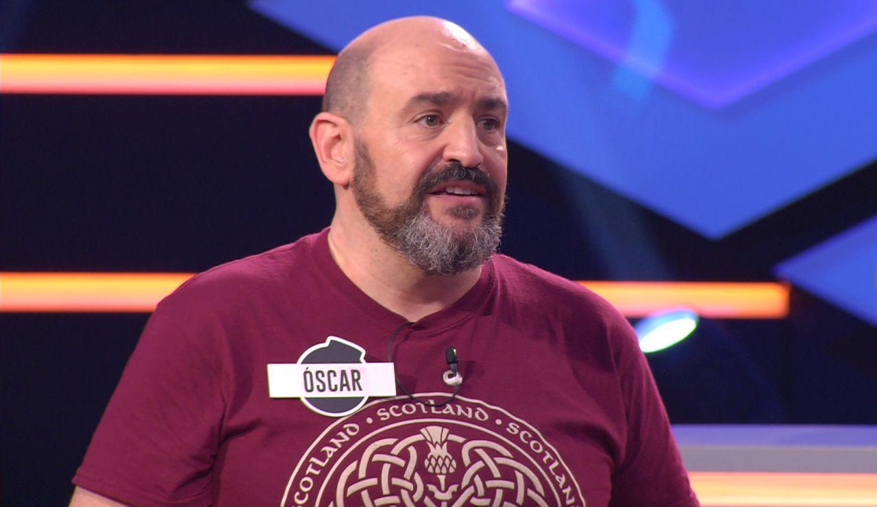 Óscar de 'Los dispersos' recuerda a su abuelo en '¡Boom!'