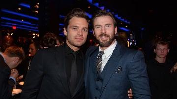 Sebastian Stan y Chris Evans