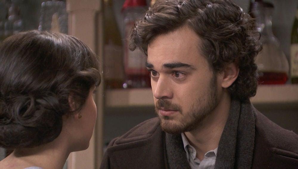 La relación de Matías y Marcela, completamente rota