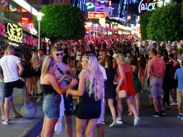 Turismo de borrachera en Magaluf