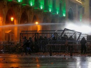 Disturbios en Libano