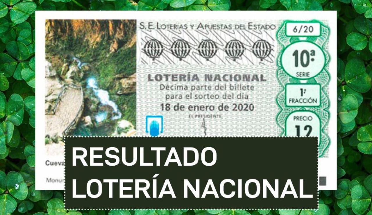 Resultado de la Lotería Nacional del sábado 18 de enero de 2020