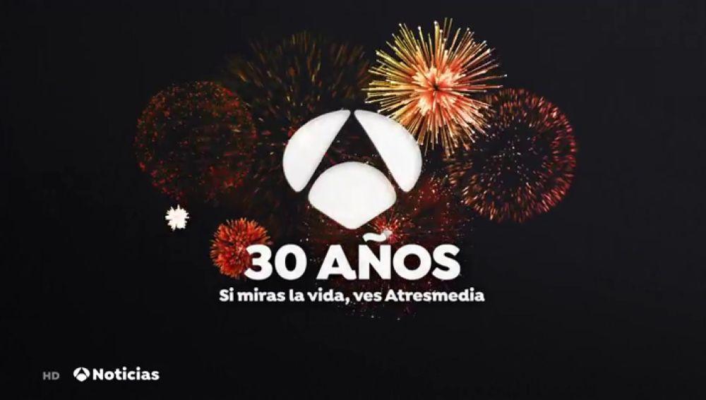 Antena 3 celebra su 30 aniversario una programación muy especial