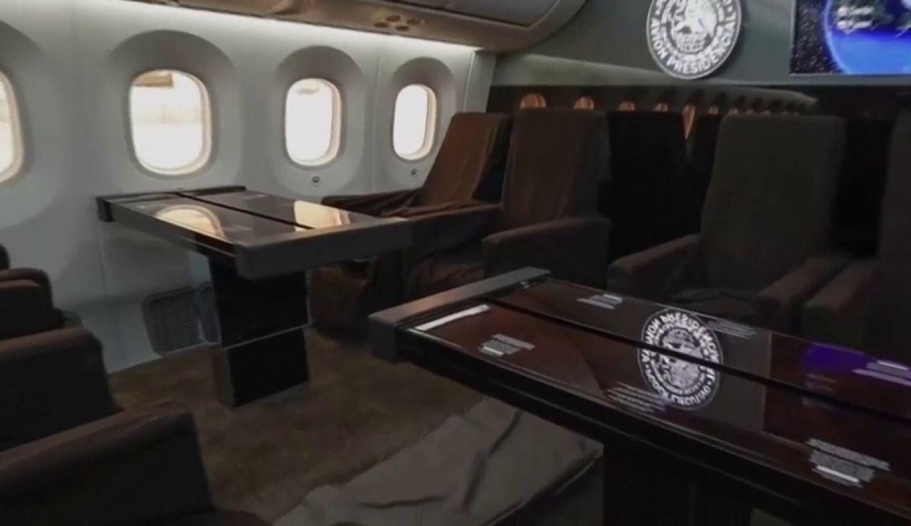 Las ocurrencias de México para deshacerse del avión presidencial: rifarlo o venderlo por piezas