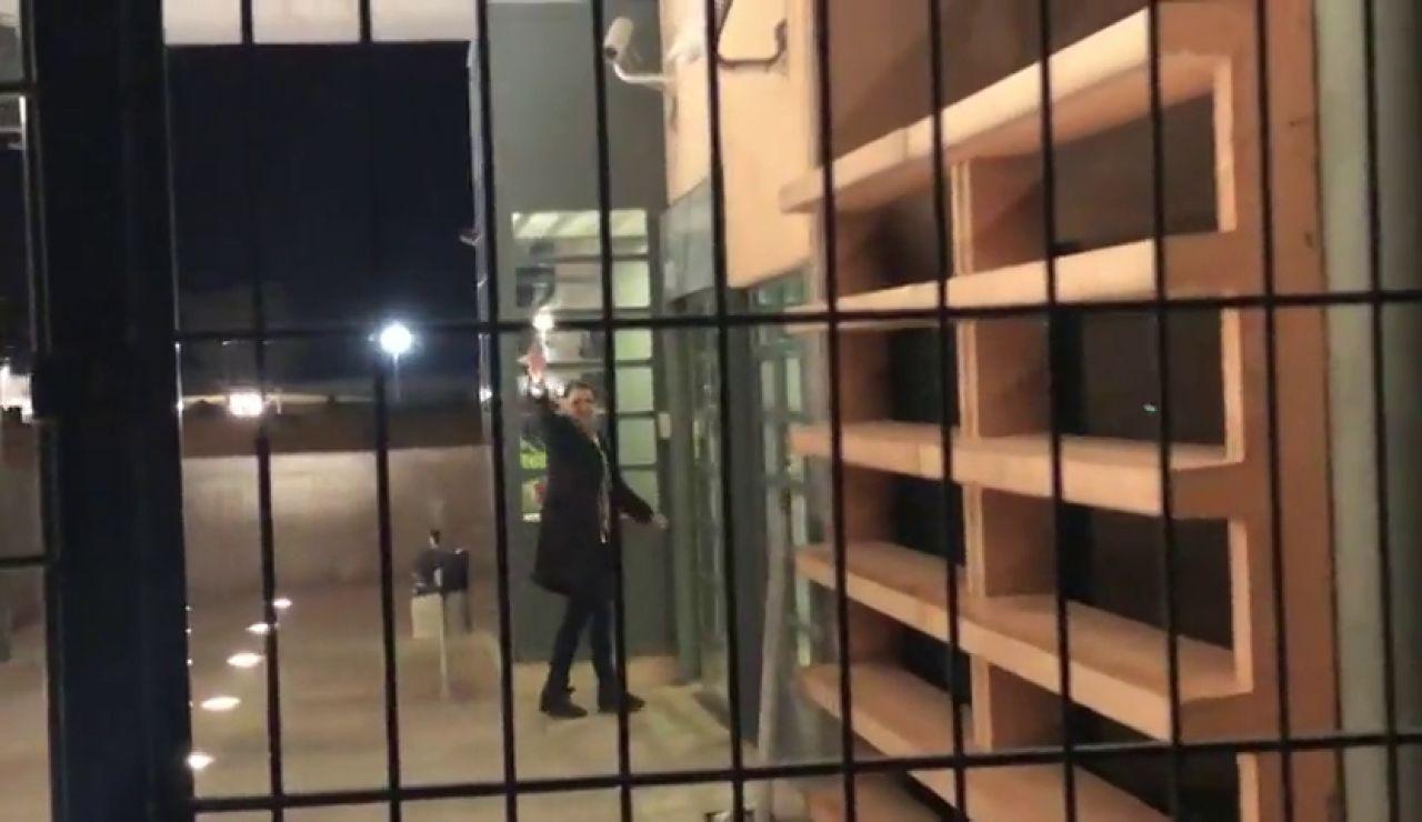 Jordi Cuixart regresa a la cárcel de Lledoners tras su primer permiso penitenciario de 48 horas
