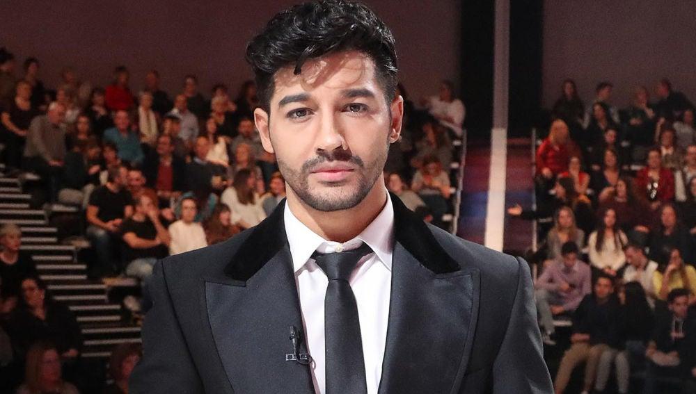 Jorge González caracterizado de Miguel Poveda en 'Tu cara me suena'