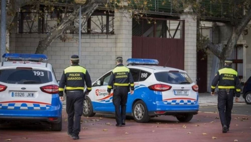 Miembros de la Policía Local de Zaragoza