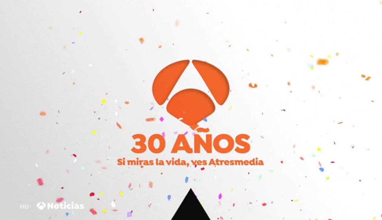 Antena 3 celebrar su 30 Aniversario con una atractiva y sorprendente programación especial