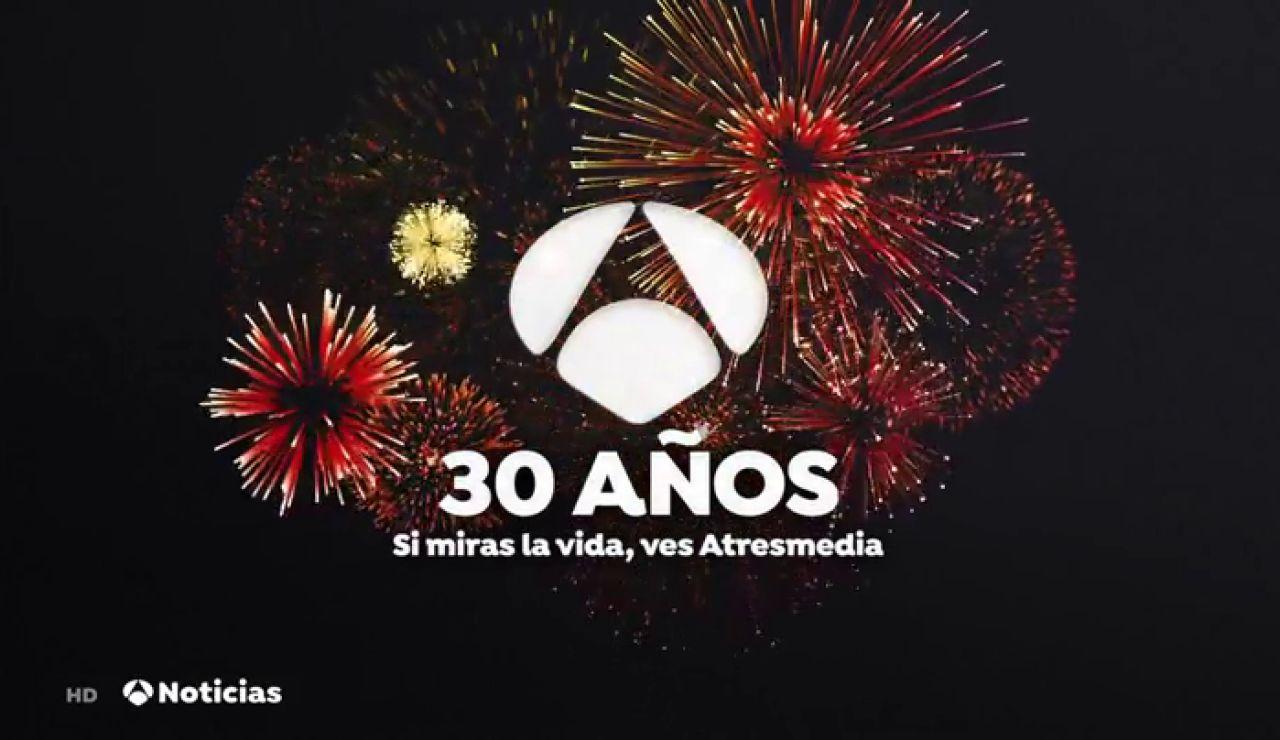 Antena 3 celebra su 30 aniversario con una atractiva y sorprendente programación especial